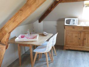 Location Honfleur Studio Le Sous Bois Cuisine
